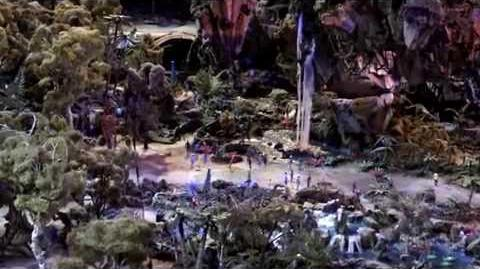 AVATAR Pandora D23 Expo 2015 AVATARLAND Walt Disney World Preview