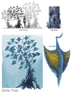 Concept Artwork of The Delta Tree