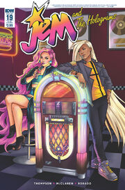 Jem and The Holograms, Issue 19 - 02