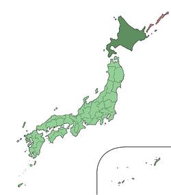 Japan Hokkaido large