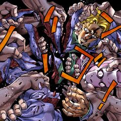 The ghostly hands of Kira's past victims exact justice, ripping him to pieces