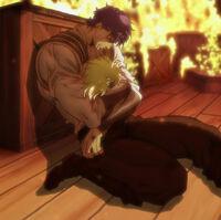 Jonathan dies (Anime)