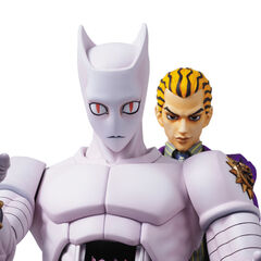 Kira (Awaked form, blonde) with Killer Queen and <a href=