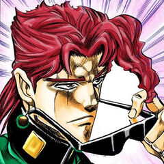 Kakyoin reuniting with the group