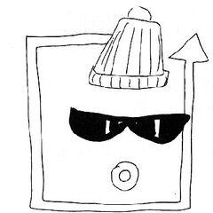 Sketch of Shizuka
