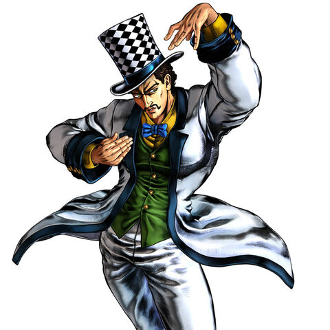 Zeppeli as he appears in <a href=