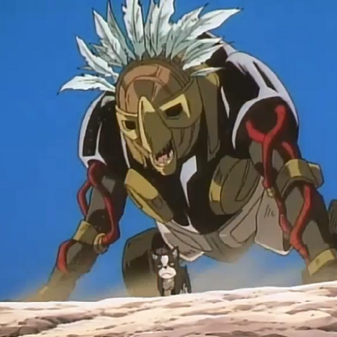 Iggy and The Fool as seen in the OVA