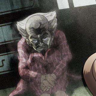 Yoshihiro's spirit appears inside a photograph.