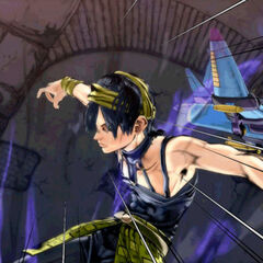 A possessed Narancia in the <i>Eyes of Heaven</i> Story Mode