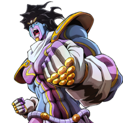 Key art of Star Platinum: The World.
