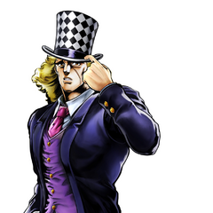 Speedwagon in <i><a href=