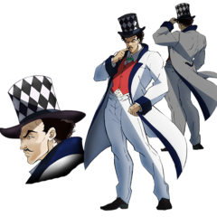 William Zeppeli in the new Anime