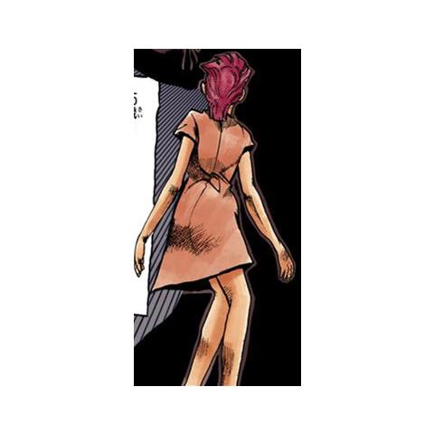 Trish seen in a flashback