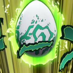 Echoes as an egg.