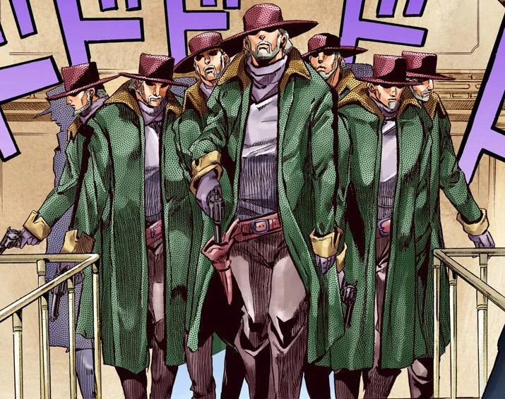 eleven men jojos bizarre encyclopedia fandom powered