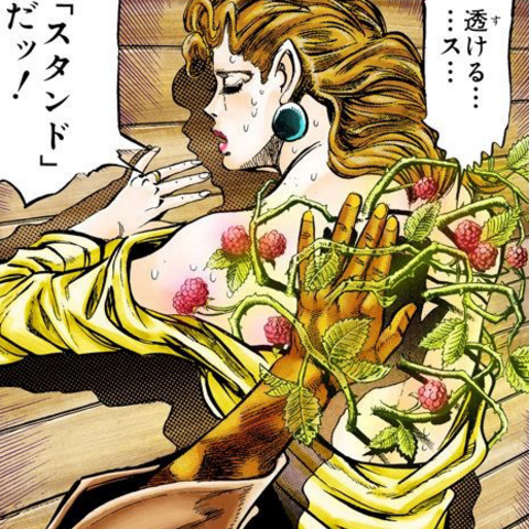 Holy's Stand can't harm others aside of herself
