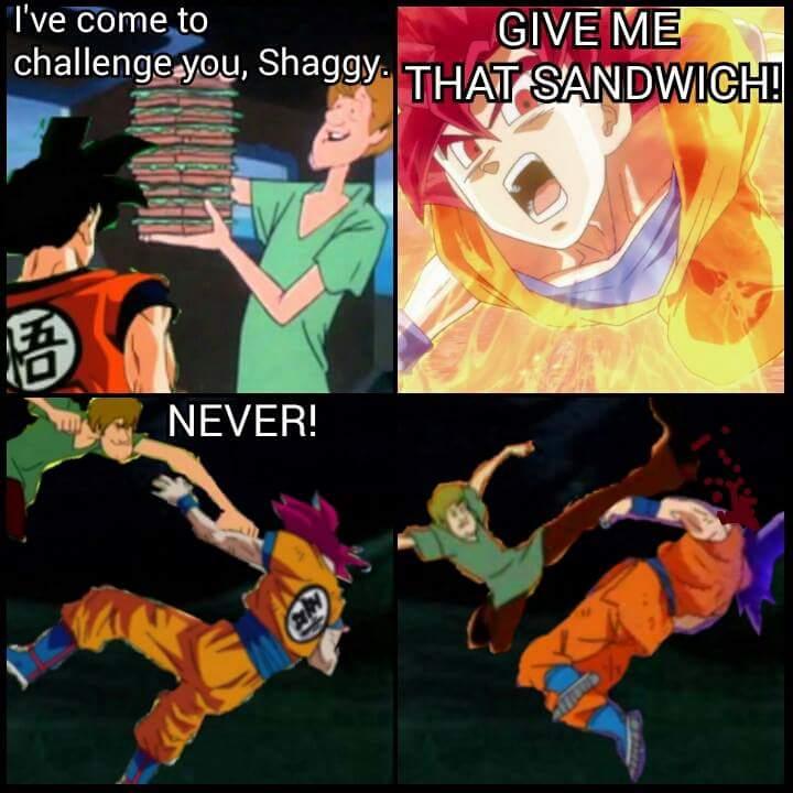 Shaggy Rogers (Dragon Ball Version) | Joke Battles Wikia ...