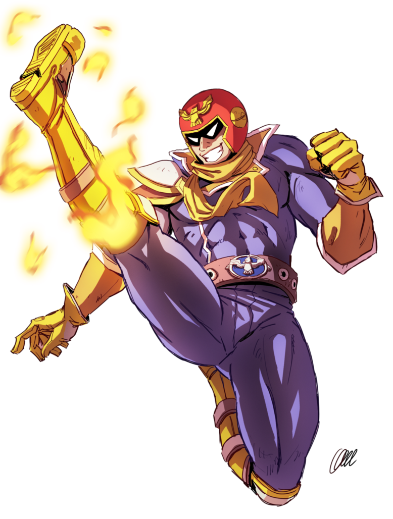 Image result for CAPTAIN falcon