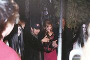 Ribbon cutting at The Grudge 2 premier