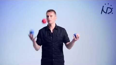 "Juggling Tutorial, 423 or ""The W"" Trick"