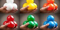 Russian style juggling balls