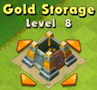 Gold Storage Lvl 8