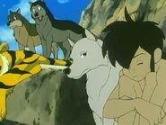 Mowgli, Luri, Akru and Sura