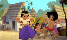 Mowgli Shanti and Ranjan having fun
