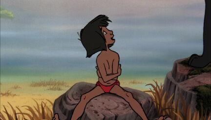 Mowgli has stoped laughing