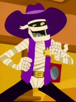 Skeeter cowboy suit