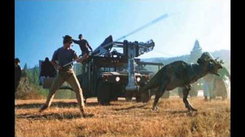 "Jurassic Park Pachycephalosaurus ""Friar Tuck"" Sound Effects HD"