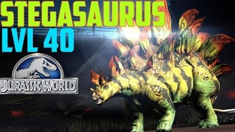 Jurassic World The Game - Stegosaurus - Level 40