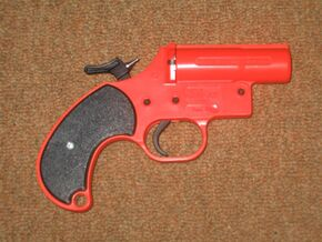 Single shot,12 Gauge, flare gun