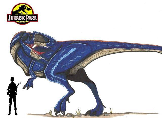File:Jurassic Park Giganotosaurus by hellraptor.jpg