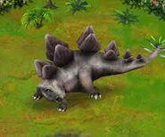 Jurassic Park Builder Stegosaurus stenops