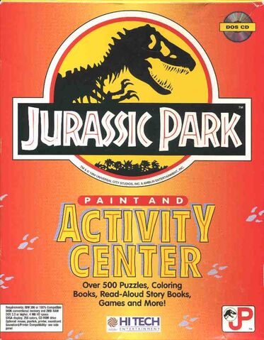 File:Jurassic Park Paint and Activity Center front.jpg