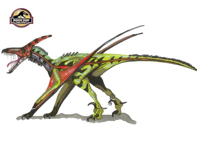 File:Jurassic Park Pteranoraptor by hellraptor.jpg