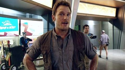 Chris Pratt's Jurassic World Journals Slap Happy (HD)