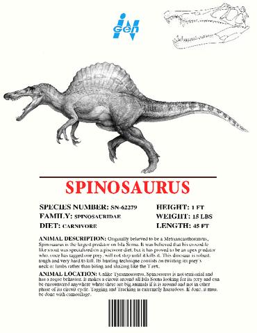 File:Ingen Dinosaur Info Sheets Spinosaurus.png
