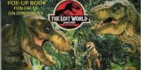 The Lost World Jurassic Park Pop-Up Book