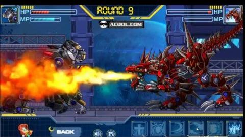 Assembly Robot Dinosaurs New HD 720 - 1 VS 4