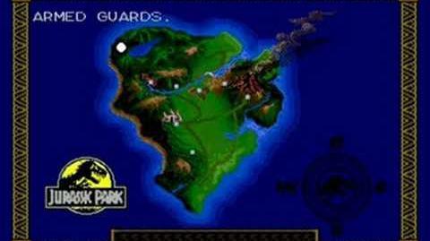 Jurassic Park (Sega MD Sega Genesis) - (Raptor Mission 1 - The Jungle Hard Difficulty)