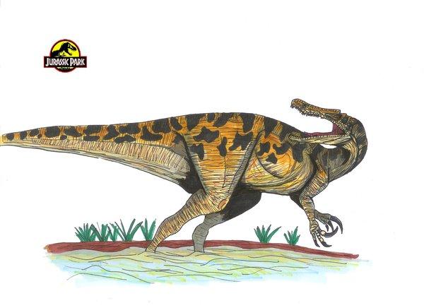 File:Jurassic Park Baryonyx by hellraptor.jpg