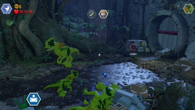 File:LEGO Jurassic World JP1 Playable Dilophosaurus and Smaller Enemy Dilophosaur MlWA77xcyJA1fxVC6k.jpg