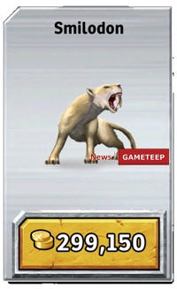 Smilodon | Jurassic Park wiki | Fandom powered by Wikia