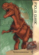 2001 Jurassic Park III 3-D 56 Tyrannosaurus front