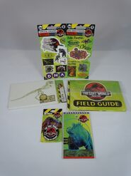 Stickers and note books