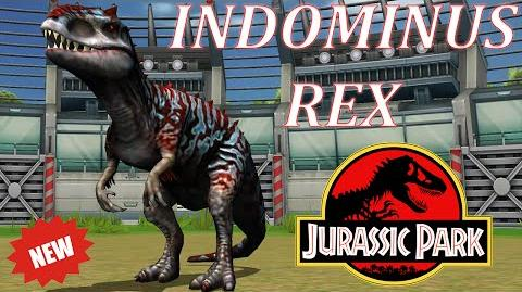 NEW INDOMINUS REX DINOSAUR UPDATE - Jurassic Park Builder Battle Tournament Gameplay 2016
