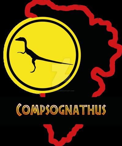 File:14 compsognathus paddock jp by luigicuau10-d8uleza.png