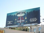 Jurassic Park 3D movie billboard